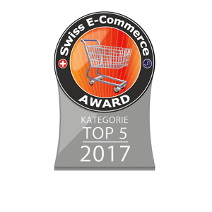Swiss E-Commerce Award Siegel